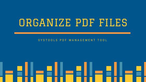 Best alternative to organize PDF Files
