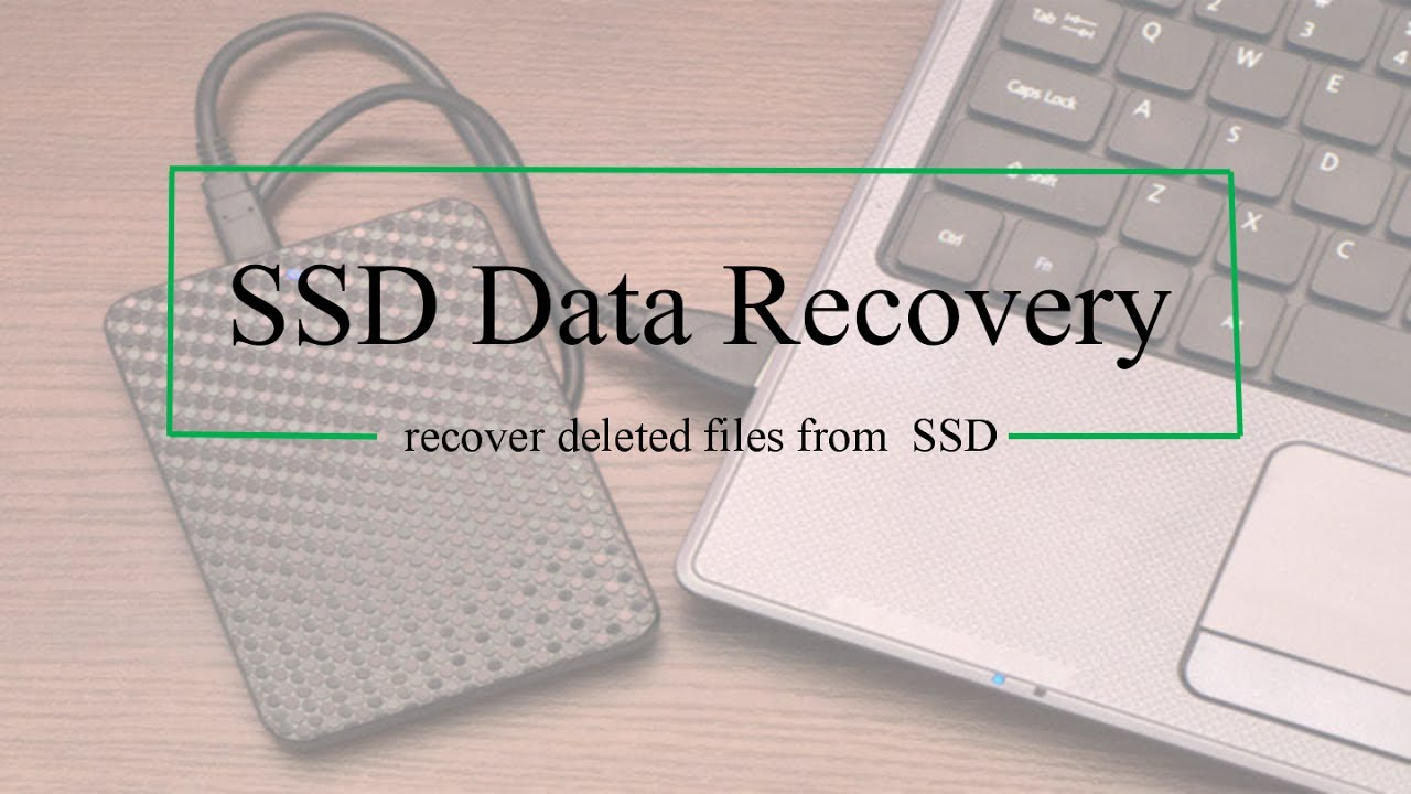 recover formatted data from ssd